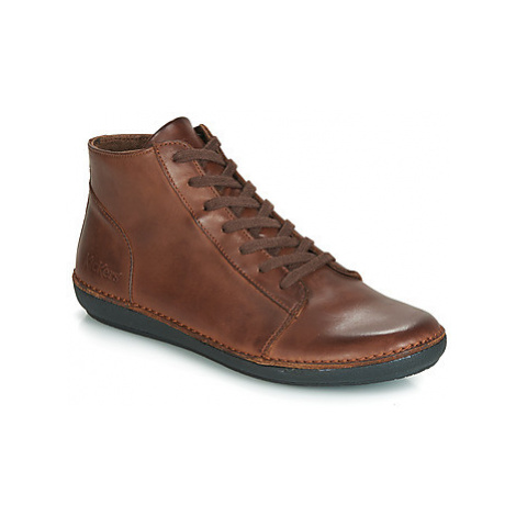 Kickers FOWTOW women's Mid Boots in Brown
