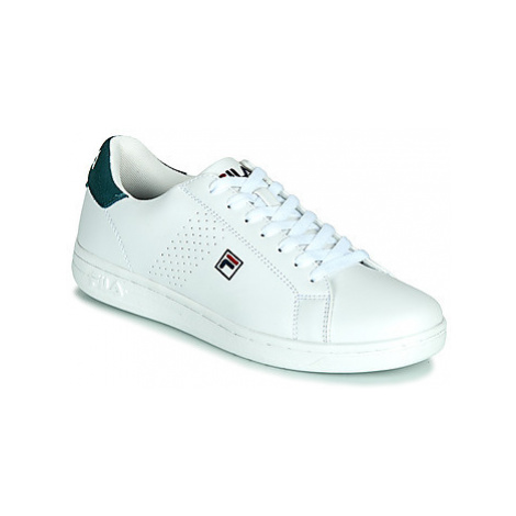 Fila CROSSCOURT 2 F LOW men's Shoes (Trainers) in White