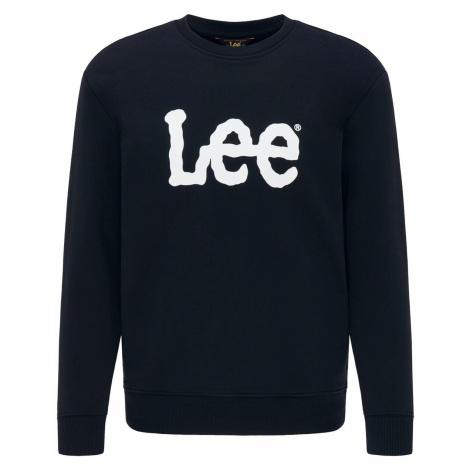 Lee Jeans Basic Crew Logo Sweatshirt black