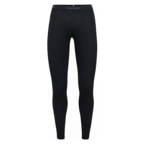 Icebreaker OASIS LEGGINGS black - Women's functional underpants Icebreaker Merino