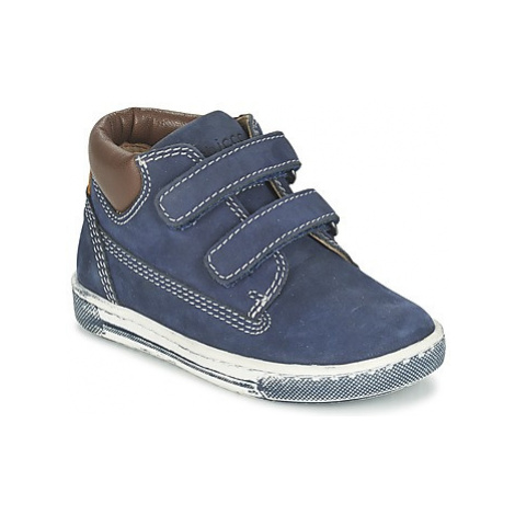 Chicco CARINO boys's Children's Shoes (High-top Trainers) in Blue