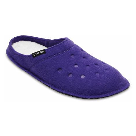 shoes Crocs Classic Slipper - Ultraviolet/Oatmeal