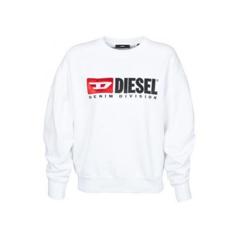 Diesel F-ARAP women's Sweatshirt in White