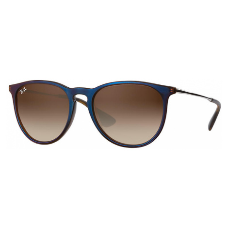 Ray-Ban Erika classic Unisex Sunglasses Lenses: Brown, Frame: Silver - RB4171 631513 54-18