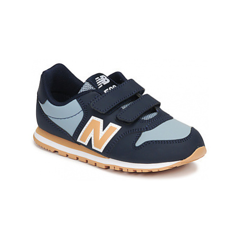 New Balance 500 boys's Children's Shoes (Trainers) in Blue