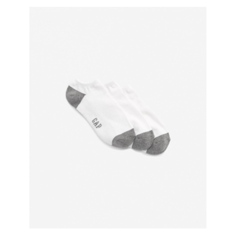 GAP Set of 3 pairs of socks White