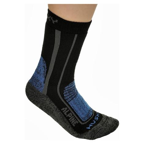 socks Husky Alpine New - Blue