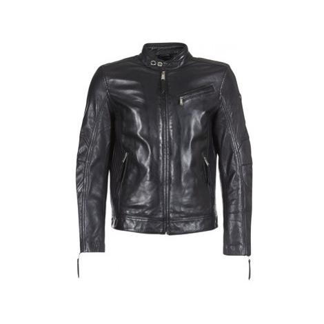 Redskins TRUST CASTING men's Leather jacket in Black