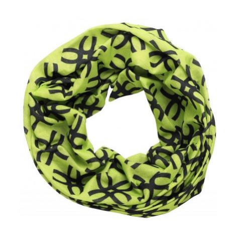 Finmark CHILDREN'S MULTIFUNCTIONAL SCARF black - Kids' multi-purpose scarf