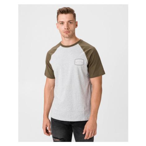 Quiksilver T-shirt Green Grey