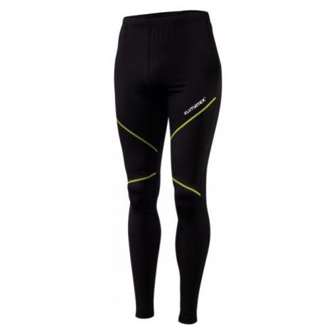 Klimatex BAKIR black - Men's functional running tights