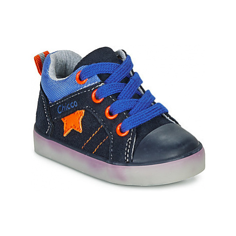 Chicco GRADO boys's Children's Shoes (High-top Trainers) in Blue