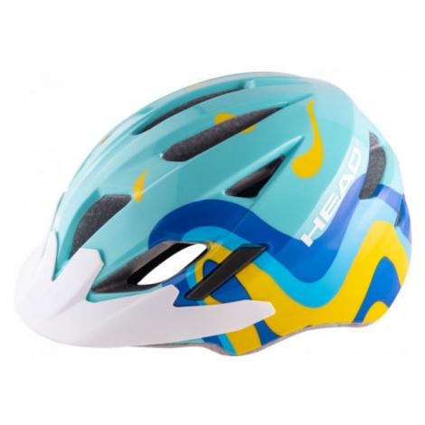 Blue cycling equipment