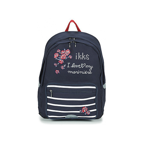 Ikks I LOVE MY MARINIERE SAC A DOS L girls's Children's Backpack in Blue