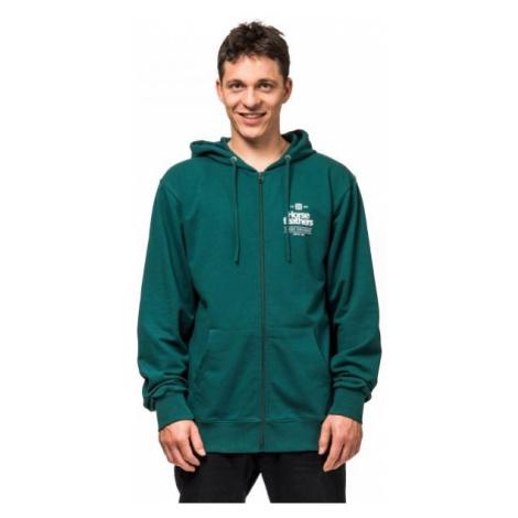 Horsefeathers BARREL SWEATSHIRT dark green - Men's sweatshirt