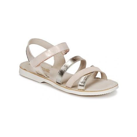 Citrouille et Compagnie IDORILLE girls's Children's Sandals in Gold