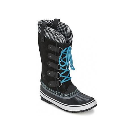 Sorel JOAN OF ARCTIC KNIT women's Snow boots in Black