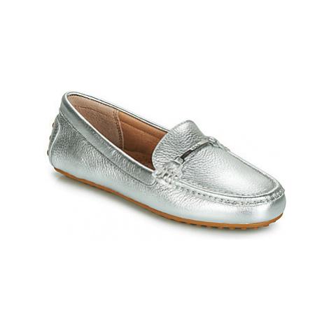 Lauren Ralph Lauren BRIONY women's Loafers / Casual Shoes in Silver