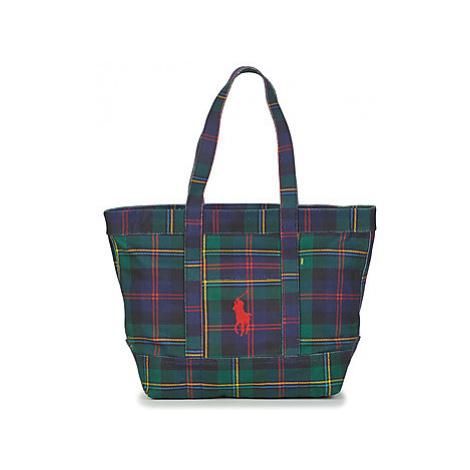 Polo Ralph Lauren PP TOTE-TOTE-MEDIUM women's Shopper bag in Green
