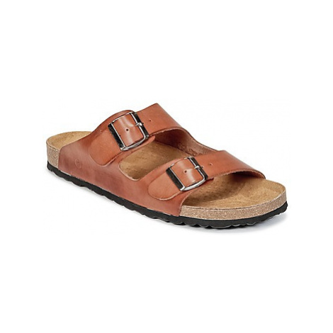 Casual Attitude PEBOL men's Mules / Casual Shoes in Brown