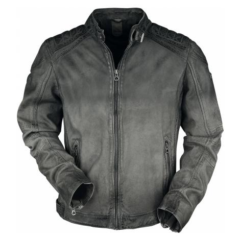 Gipsy Vincente LAMOC Leather Jacket anthracite