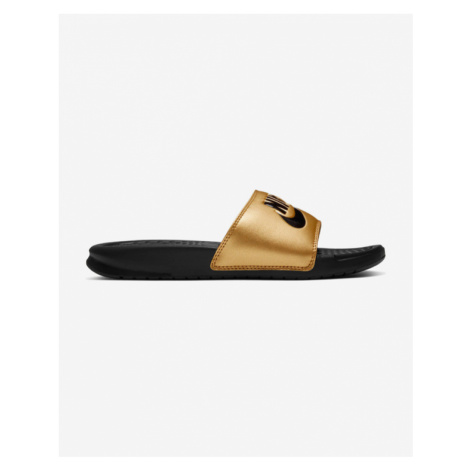 Nike Benassi JDI Slippers Black Gold