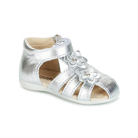 Citrouille et Compagnie GLOWI girls's Children's Sandals in Silver