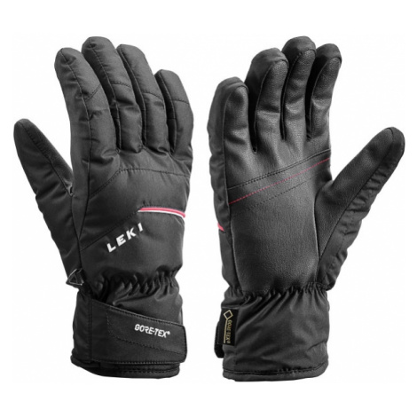 Leki APIC GTX black - Men's downhill ski gloves