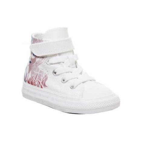 Converse All Star Hi 1vlace WHITE MULTI ELSA FROZEN