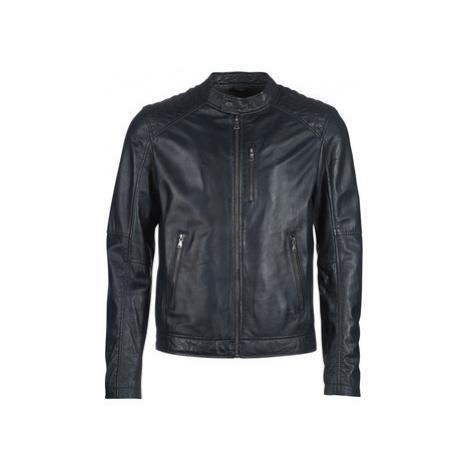 Oakwood AGENCY men's Leather jacket in Blue