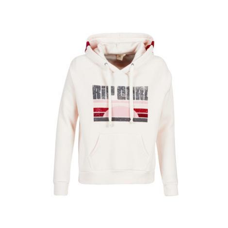 Rip Curl FRONT SIDE HOODED FLEECE women's Sweatshirt in Beige