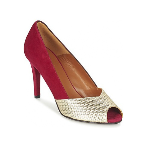Heyraud ELOISE women's Court Shoes in Red