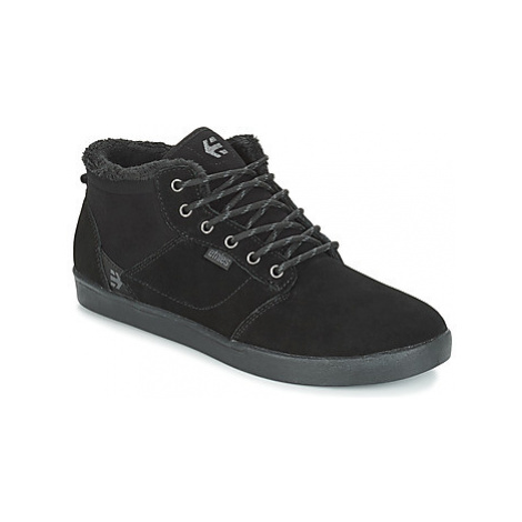 Etnies JEFFERSON MID men's Shoes (High-top Trainers) in Black
