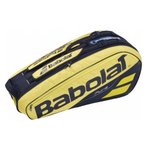 Babolat PURE AERO RH X 6 yellow - Tennis bag