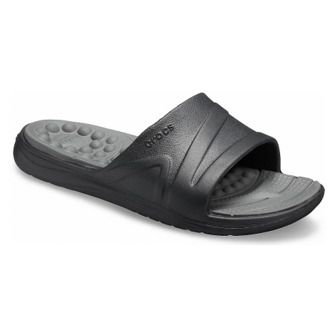 shoes Crocs Reviva Slide - Black/Slate Gray