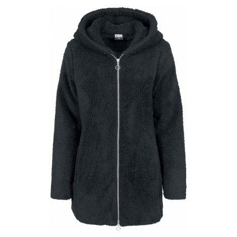 Urban Classics - Ladies Sherpa Jacket - Girls jacket - black