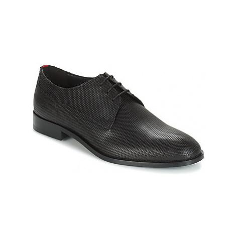 HUGO SMART DERB ITPR men's Casual Shoes in Black Hugo Boss