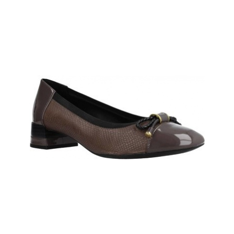 Geox D CHLOO MID women's Court Shoes in Brown