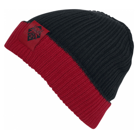 The Witcher - Logo - Beanie - black-red