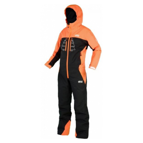 Picture WINSTONY orange - Children's ski set