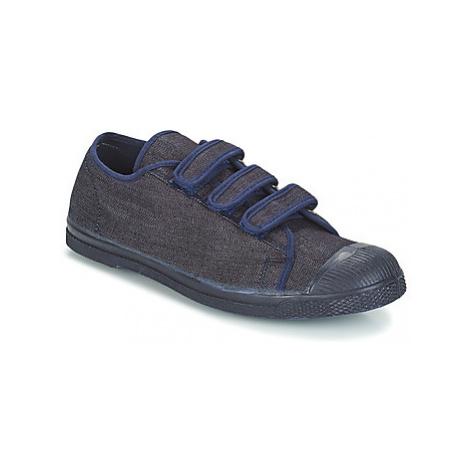 Bensimon TENNIS DENIM men's Shoes (Trainers) in Blue