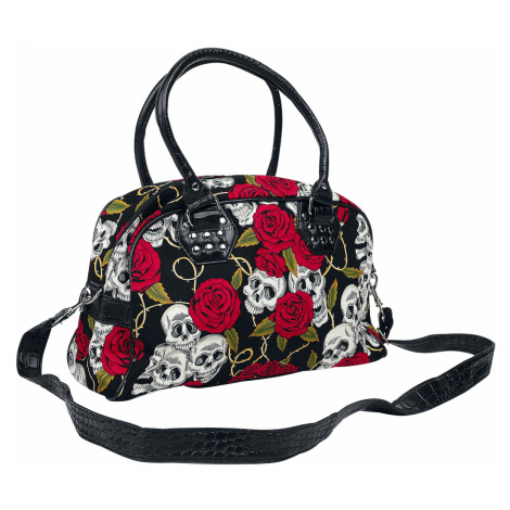 Banned - Skulls and Roses - Handbag - black