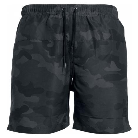 Urban Classics - Camo Swim Shorts - Swim trunks - dark camo
