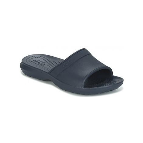 Blue boys' slippers