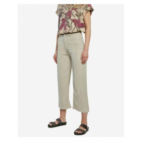Desigual Rita Trousers Beige