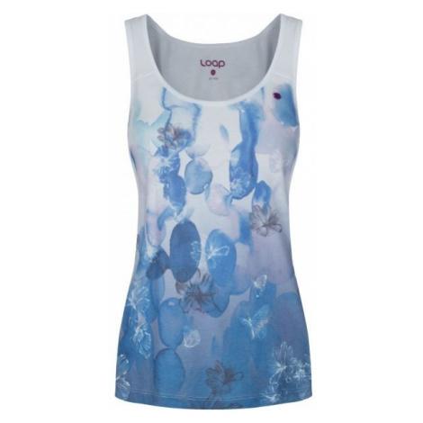 Loap ALISE blue - Women's tank top