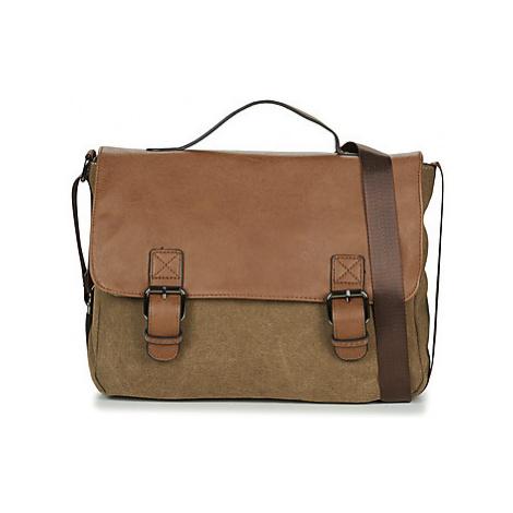 Casual Attitude HENVI men's Messenger bag in Brown