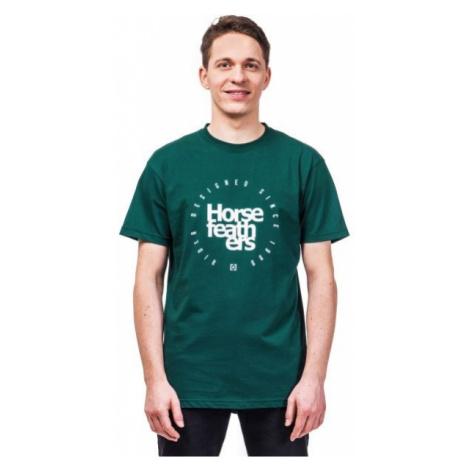 Horsefeathers DENK T-SHIRT dark green - Men's T-shirt