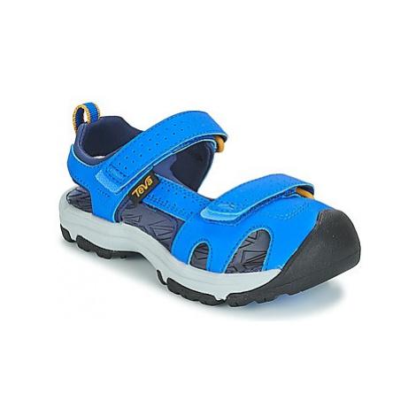 Teva HURRICANE TOE PRO boys's Children's Sandals in Blue