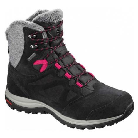 Salomon ELLIPSE WINTER GTX W black - Women's winter shoes